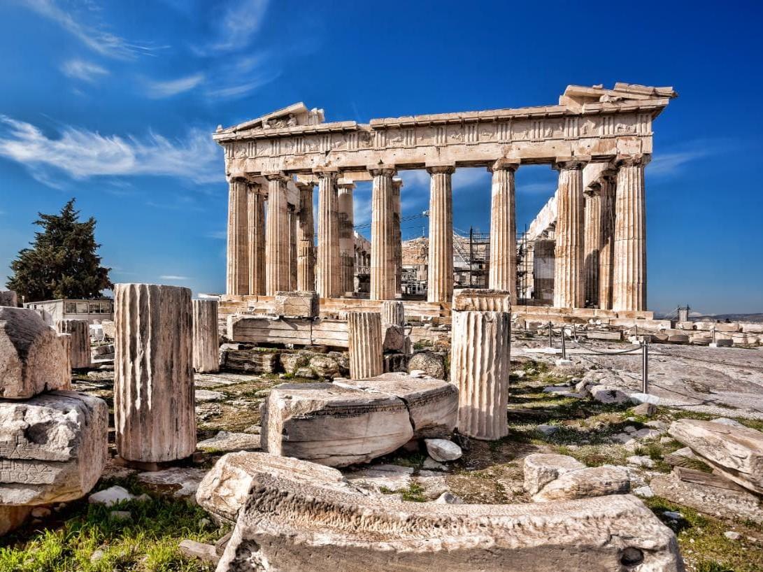 Greek Pole Camp
