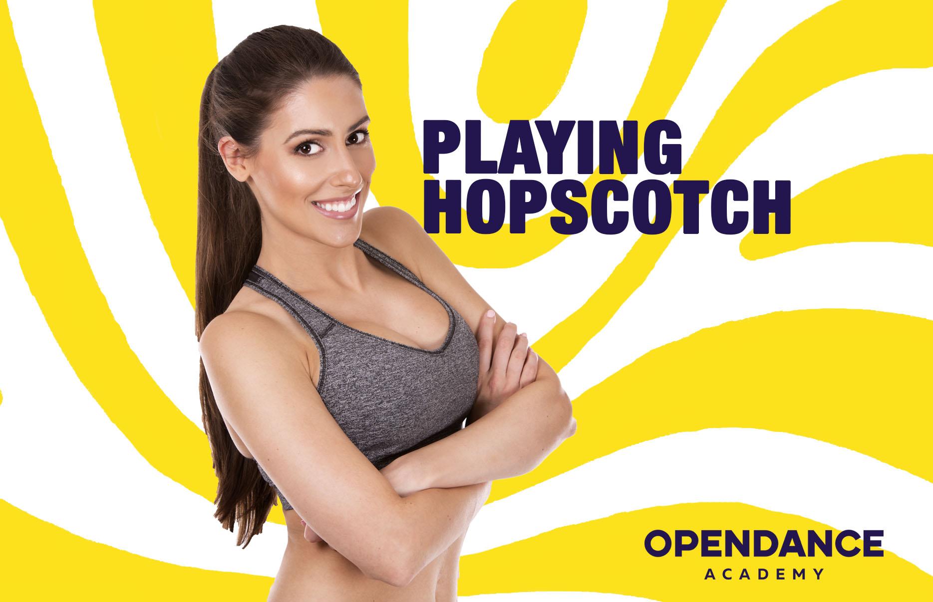 Playing Hopscotch