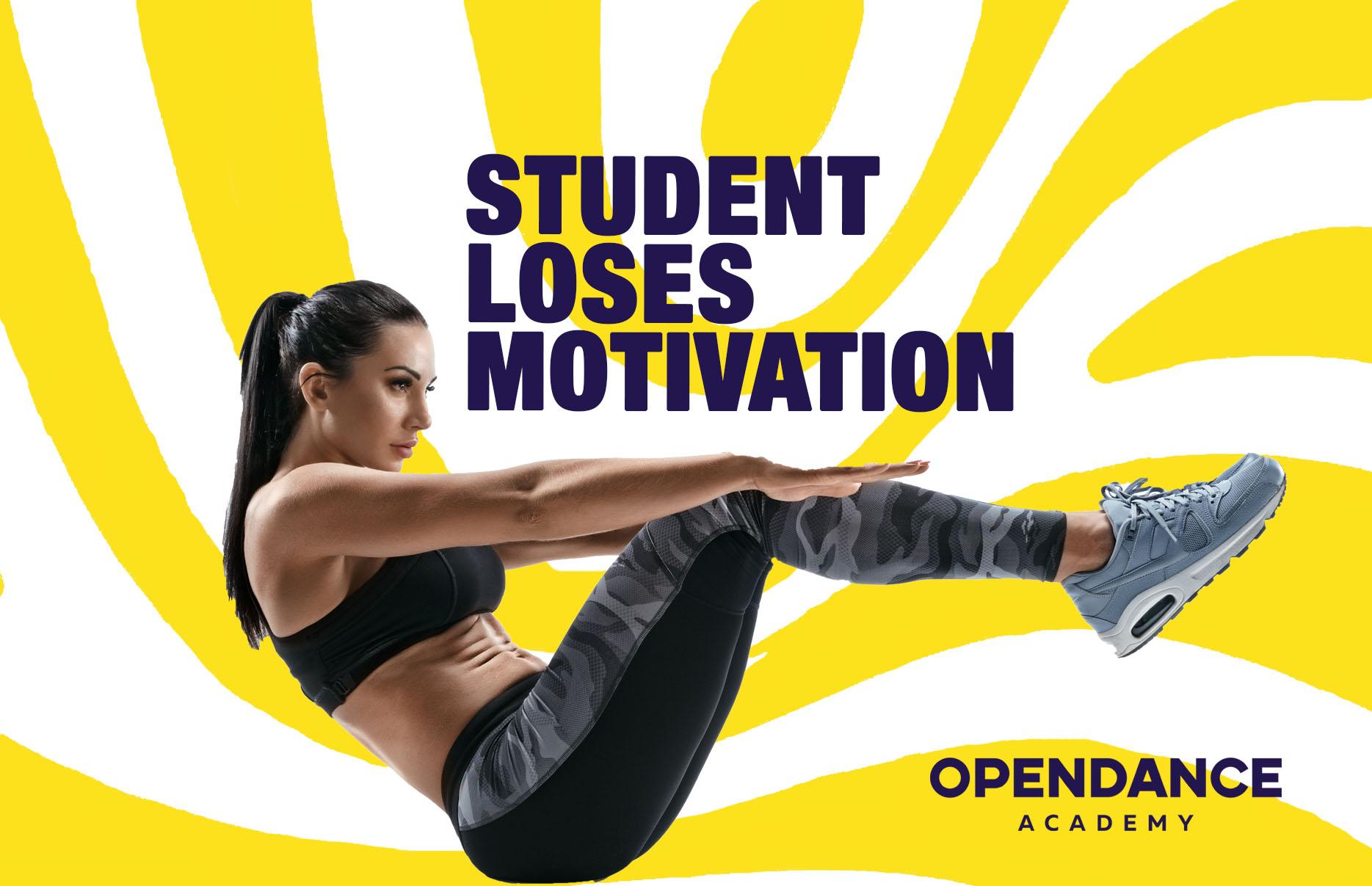 Student Loses Motivation