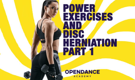 Power Exercises and Disc Herniation Part 1