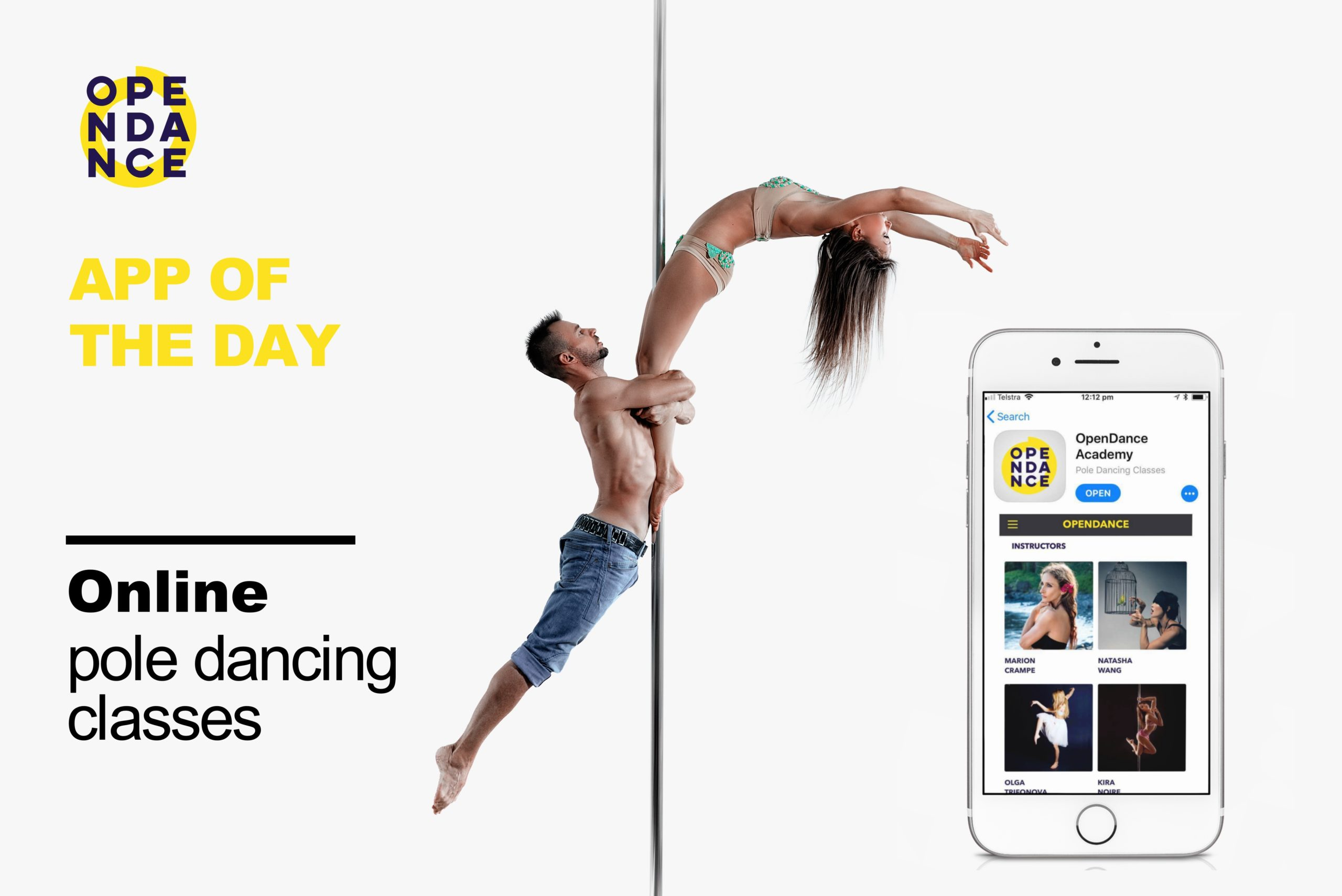 OpenDance Academy – App of the Day 2021
